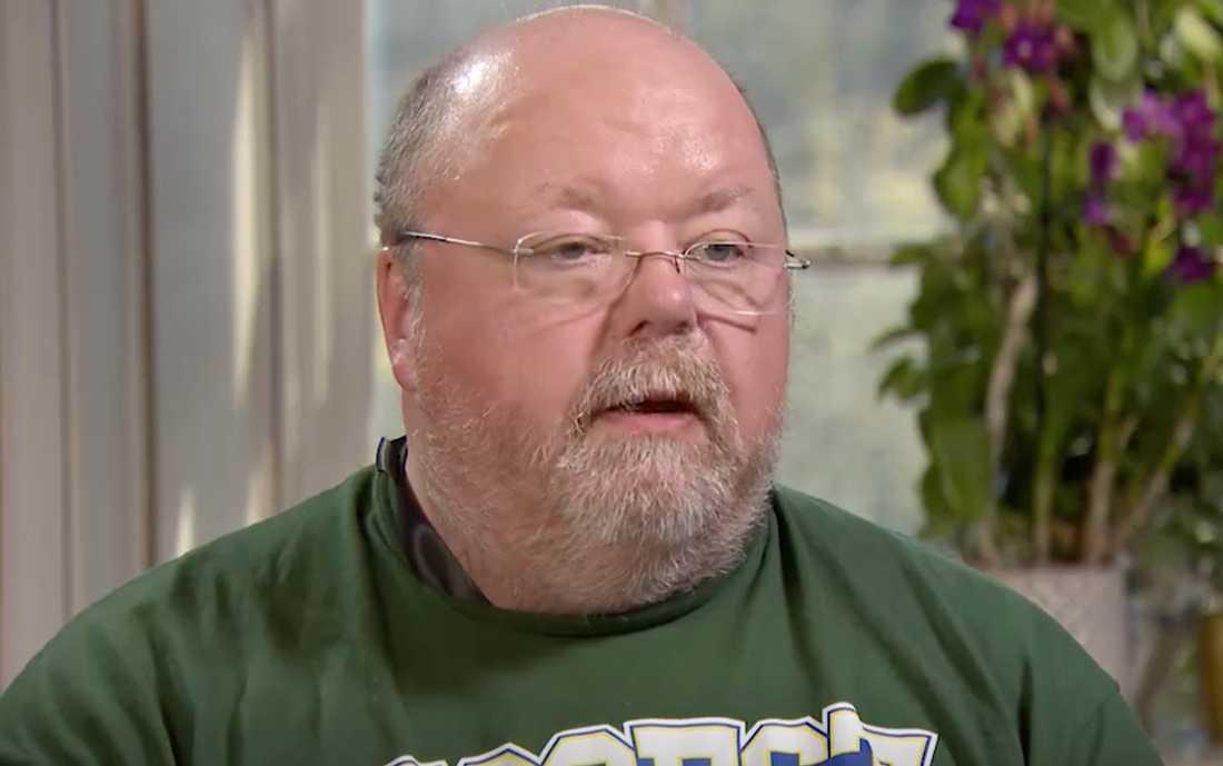 """Kalle Moraeus i """"Biggest loser VIP""""."""