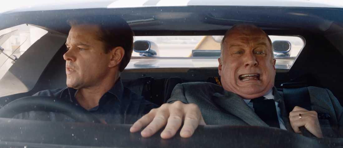 """Matt Damon och Tracy Letts i """"Le Mans '66""""."""