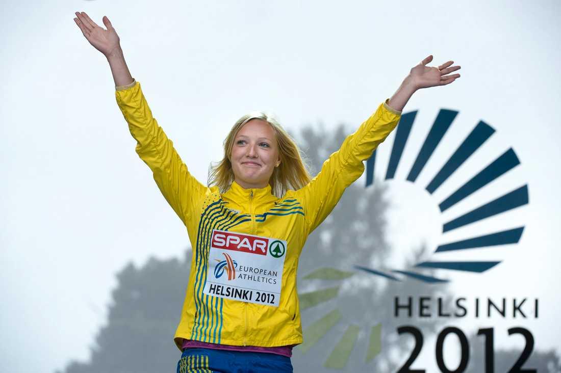 Hjelmer vann EM-guld 2012.