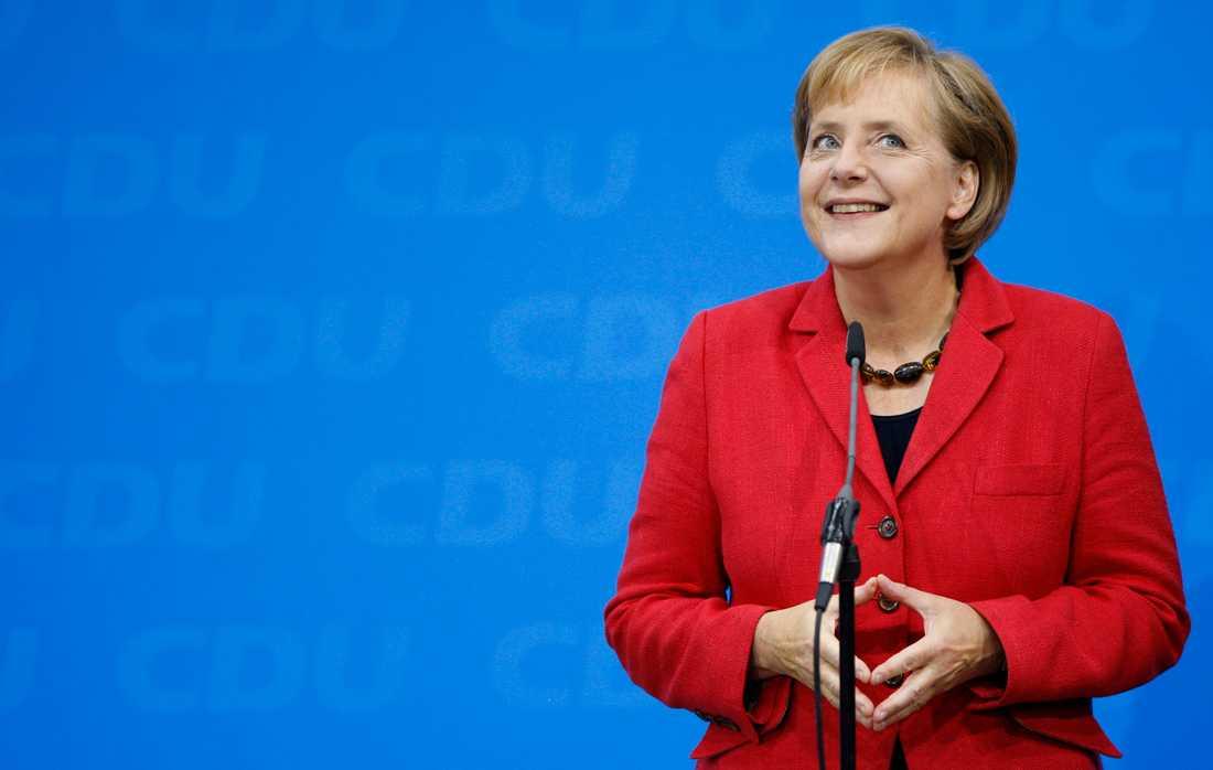 Förbundskansler Angela Merkel har suttit 15 vid makten.