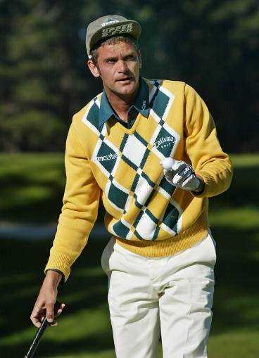 Golfstjärnan Jesper Parnevik gjorde reklam för Vulkansand i amerikansk tv.