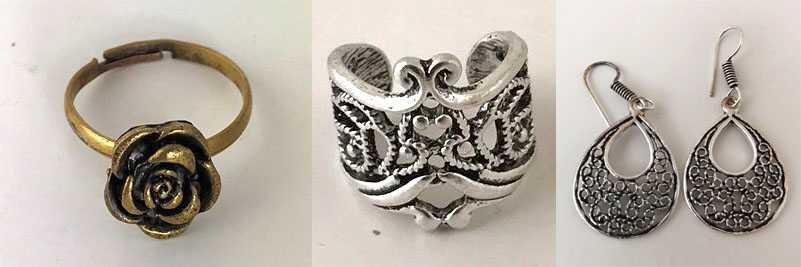 När smycken i etno/bohemisk stil beställdes via nätet, hittade Kemikalieinspektionen höga halter av den giftiga metallen kadmium i en tredjedel av produkterna.