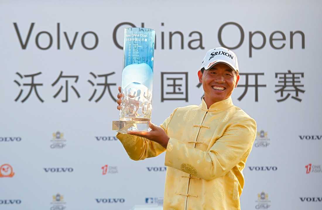 Kinesen Wu Ashun vann Volvo Open 2015. Arkivbild.
