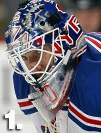 Henrik Lundqvist, NY Rangers.