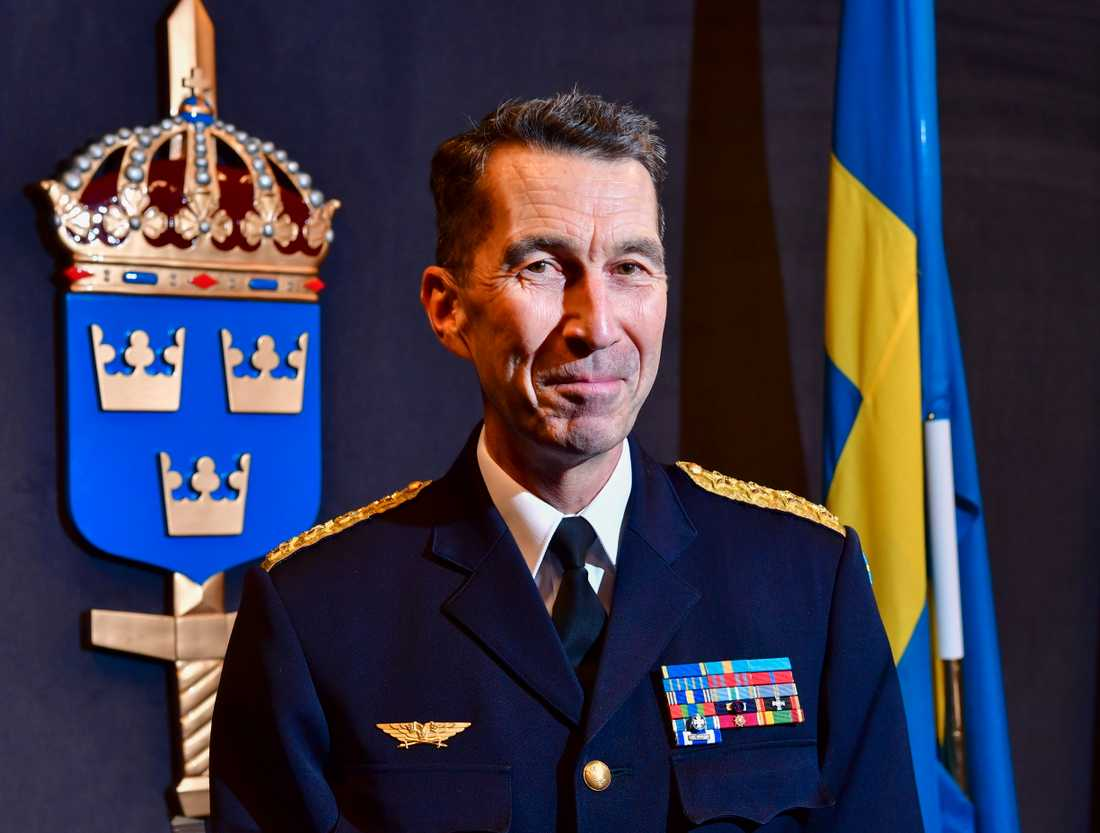 Överbefälhavare Micael Bydén. Arkivbild.