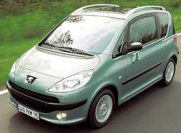 bäst i test Småbilen Peugeot 1007 blev bäst i NCAP:s säkerhetstest.