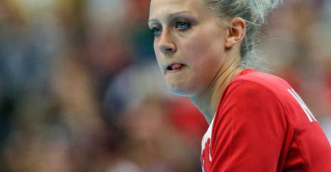 Ann Grete Nørgaards Danmark förlorade mot Rumänien.