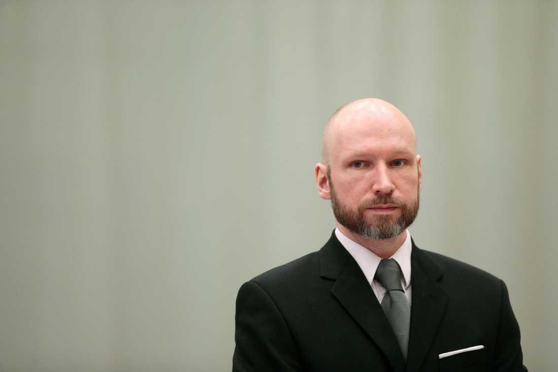 Anders Behring Breivik. Arkivbild.