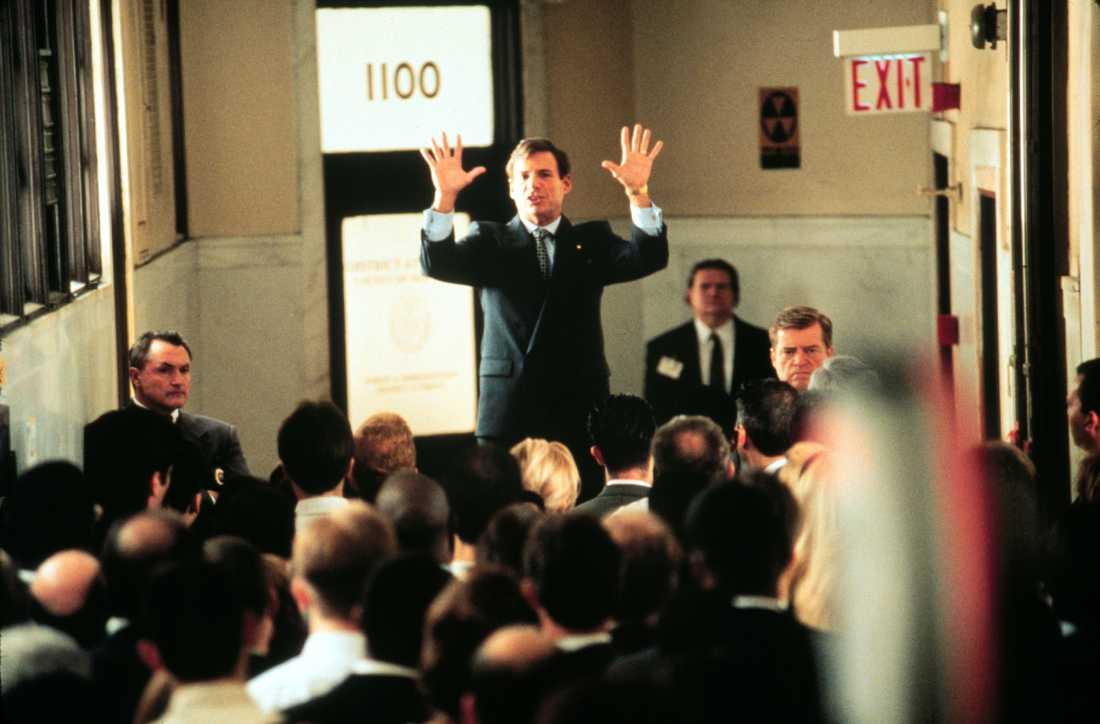 """I filmen """"Night falls on Manhattan"""" från 1995"""