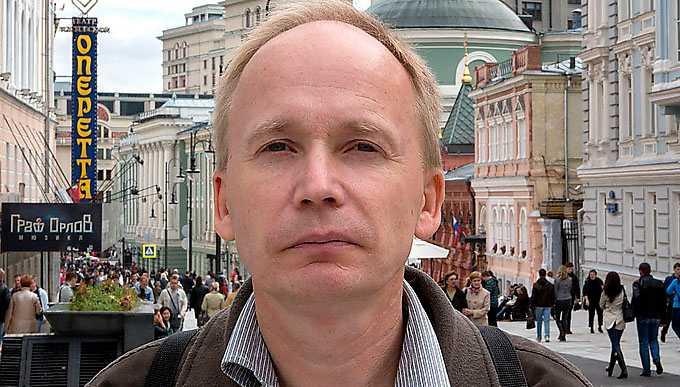 """Kalle Kniivilä (f. 1965) är journalist på Sydsvenskan och Rysslandskännare. Han har bland annat skrivit boken """"Putins folk""""."""