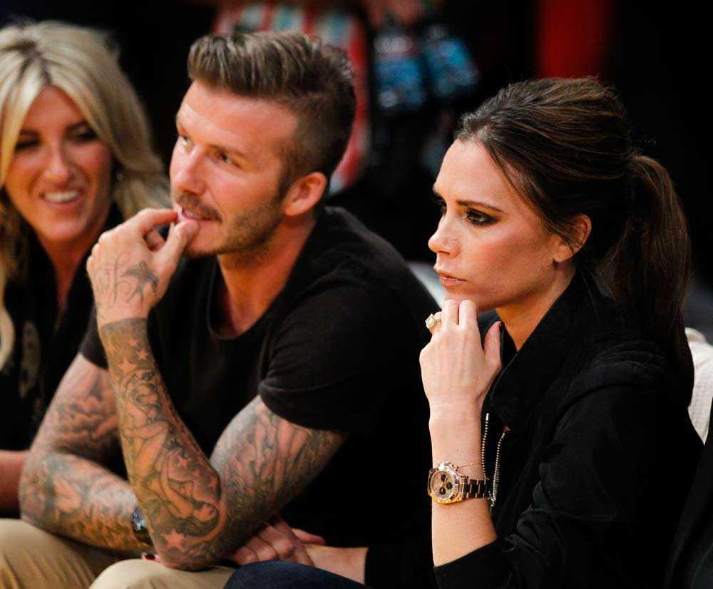 David Beckham, ett vanligt namn på snyggast-listorna, kom tvåa.