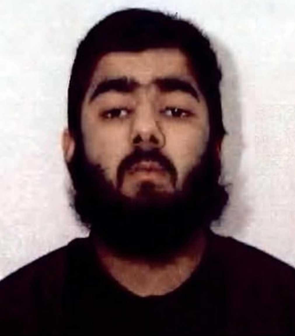 Usman Khan, 28.