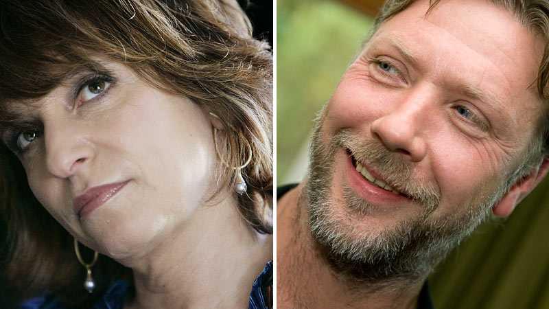 Susanne Bier och Mikael Persbrandt.