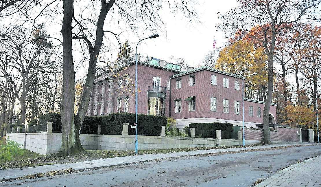 USA:s ambassad.
