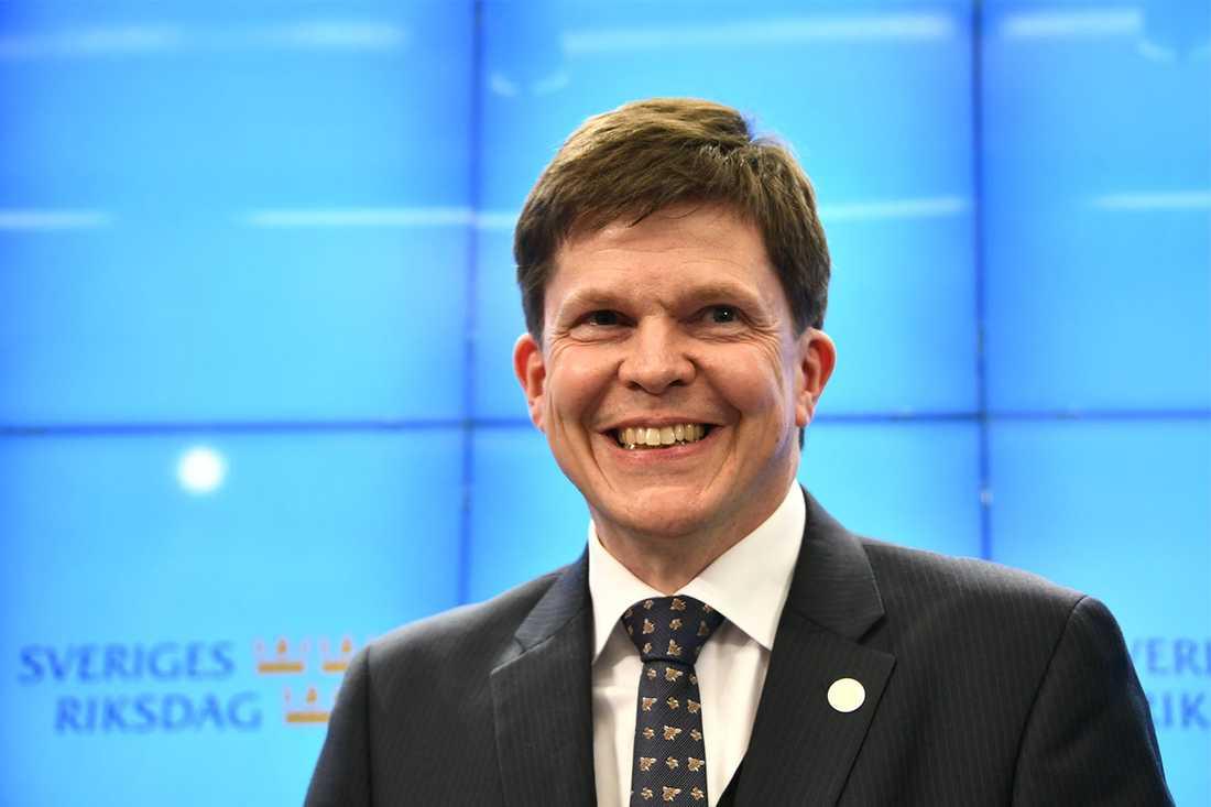 """""""Jag är talman, inte trollkarl"""", säger Andreas Norlén (M)."""