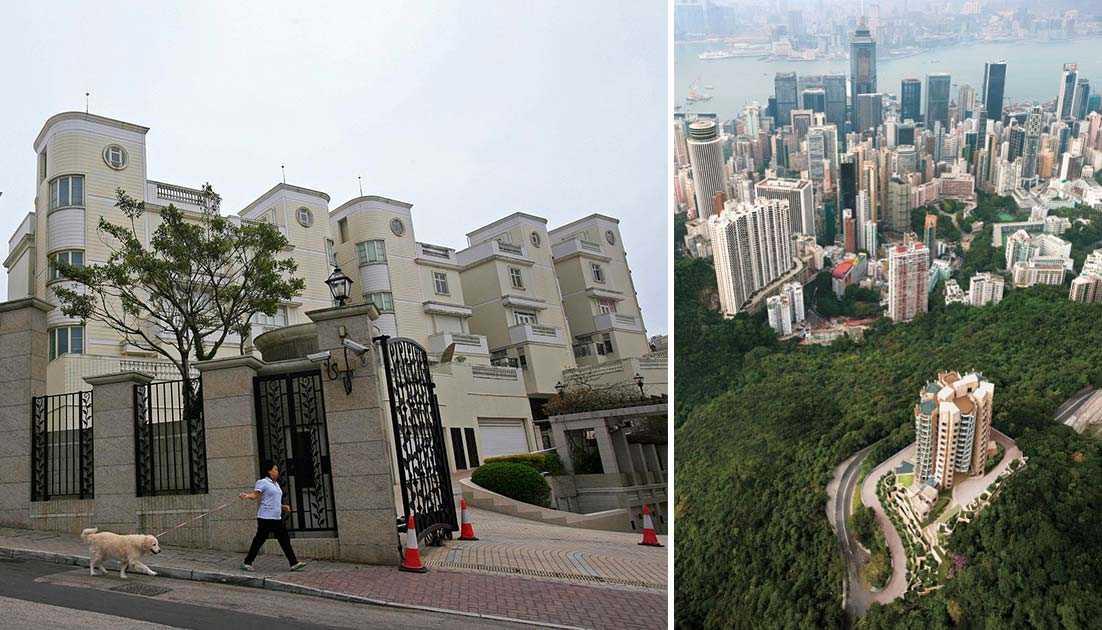 Världens dyraste gata heter Pollocks Path och ligger på Victoria Peak i Hongkong.