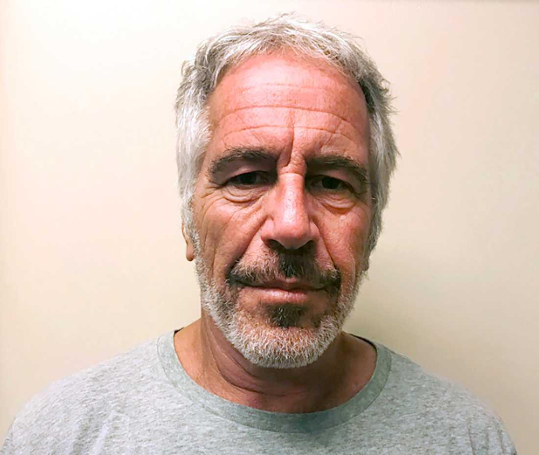 Epstein på en polisbild från 2008.