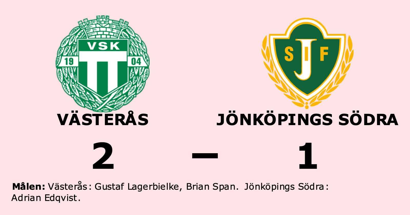Västerås slog Jönköpings Södra hemma