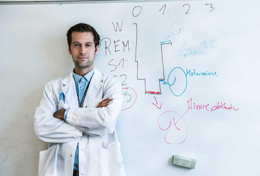 Christian Benedict, sömnforskare vid Uppsala universitet.