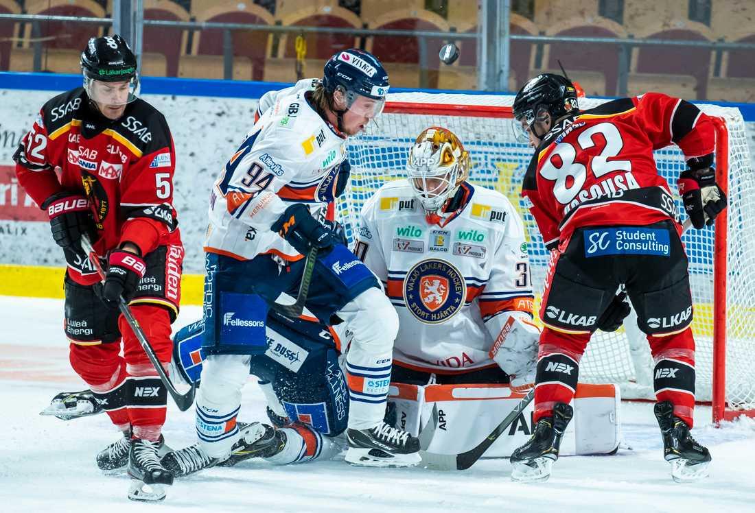 Växjös Viktor Fasth spikade igen borta mot Luleå. Smålänningarna vann matchen i Norrbotten med 2–0.