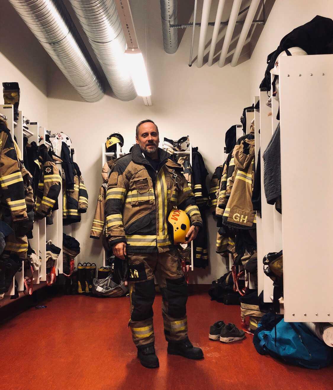 Brandmannen Kim Ekman.