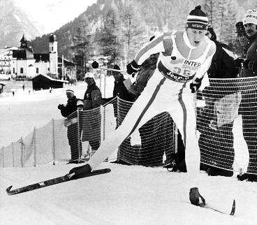 Svans fristilsteknik utvecklade skidorna på 80-talet.