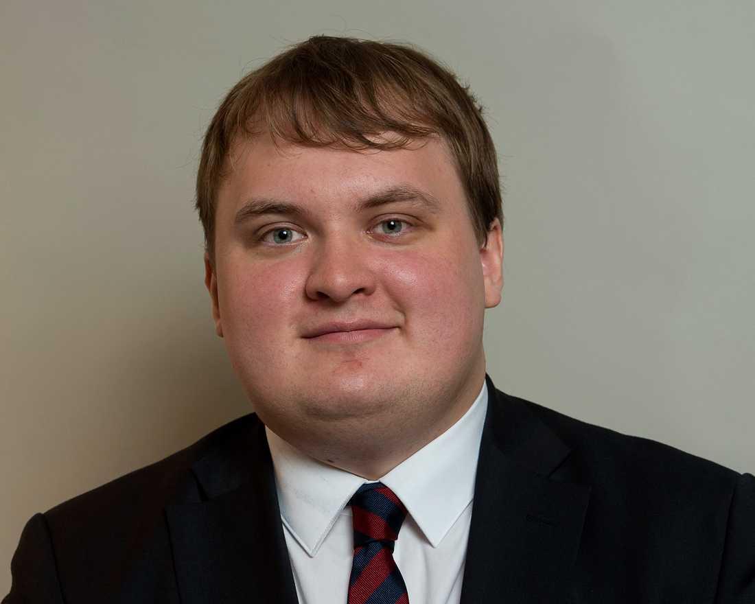 Före detta SD-ledamoten Pavel Gamov.
