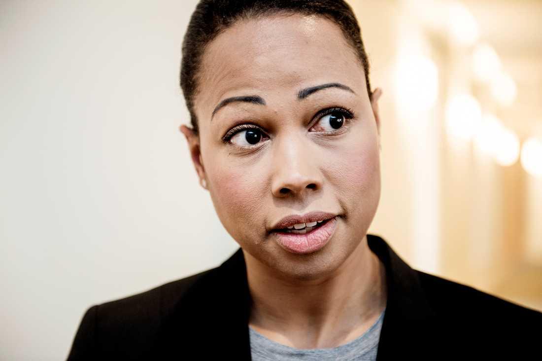 Kulturminister Alice Bah Kuhnke (MP).