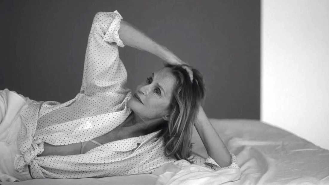 Lauren Hutton, 73, är ny Calvin Klein-modell.
