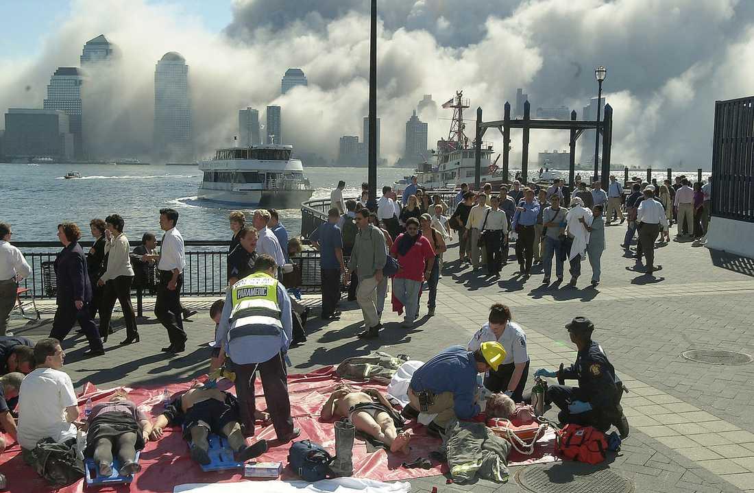 ELD OCH DAMM Centrala New York var ett rykande inferno för tio år sedan.