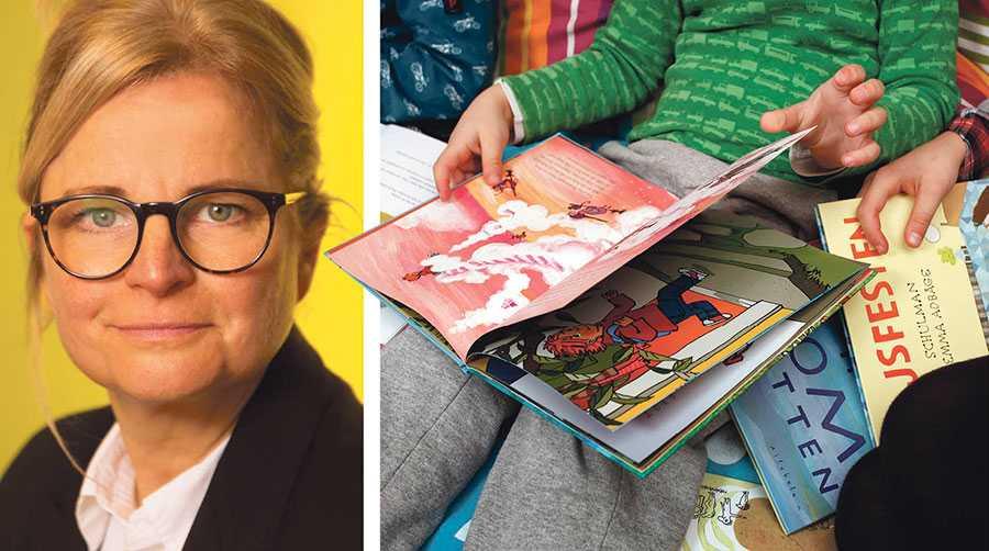 Många folkvalda i olika partier sjunger bibliotekens lov. Samtidigt är det provocerande tomt på förslag. Biblioteken måste få rätt resurser om vi ska ge barnen goda läsvanor, skriver Karin Linder.