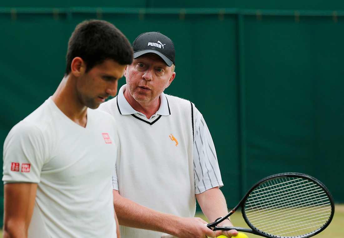 Becker var tränade Djokovic till sex grand slam-titlar  mellan 2013–2016