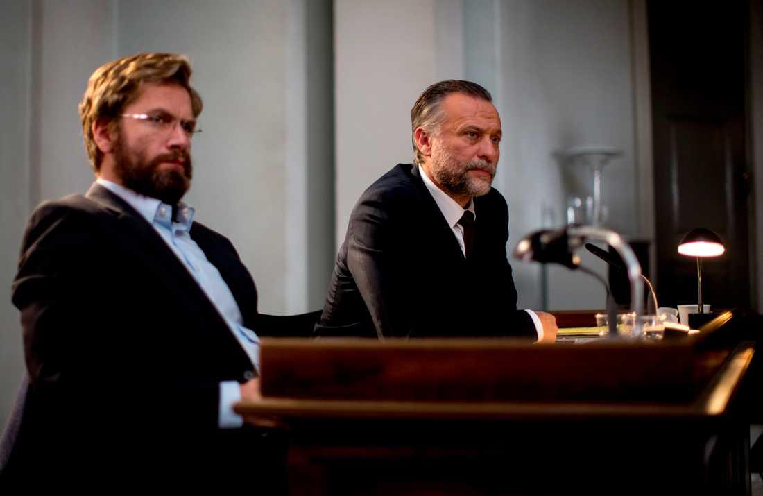 """Skådespelarna Nikolaj Lie Kaas och Michael Nyqvist spelar två av rollerna i den danska filmen """"Du försvinner"""" som spelas in hos Film i Väst i Trollhättan. Filmen baseras på en bok av den danske författaren Christian Jungersen."""