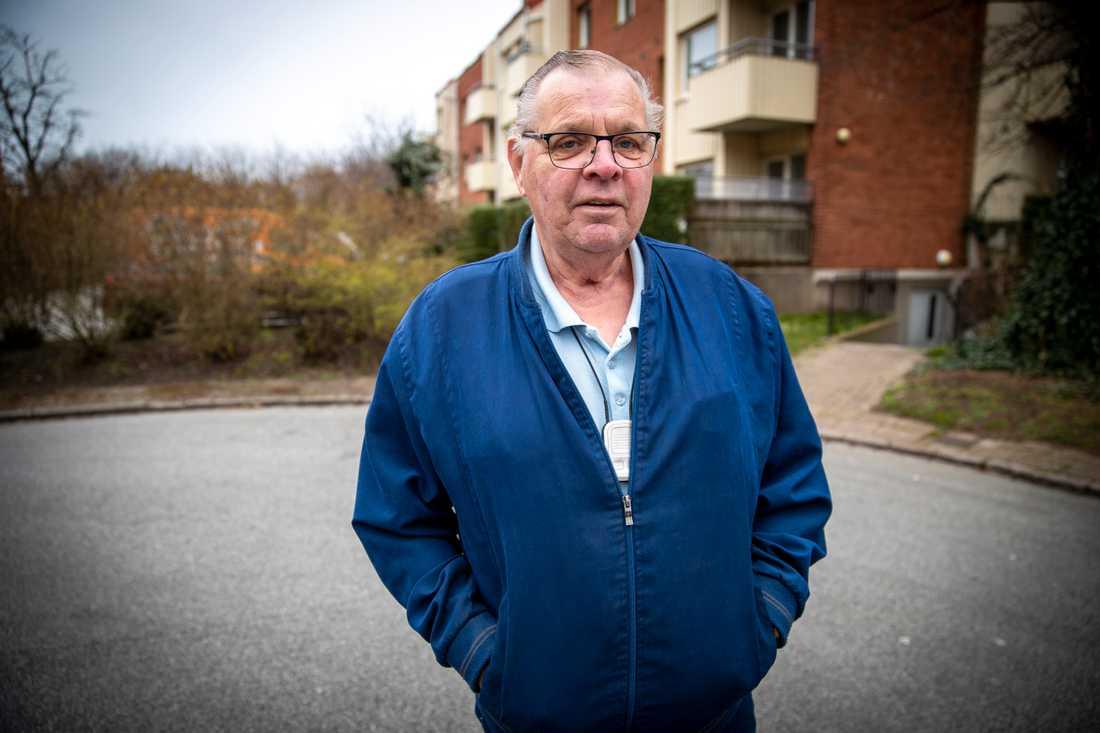 Lars-Göran Fors, PRO-ordförande i Slottsstaden-Lorensborg i Malmö.