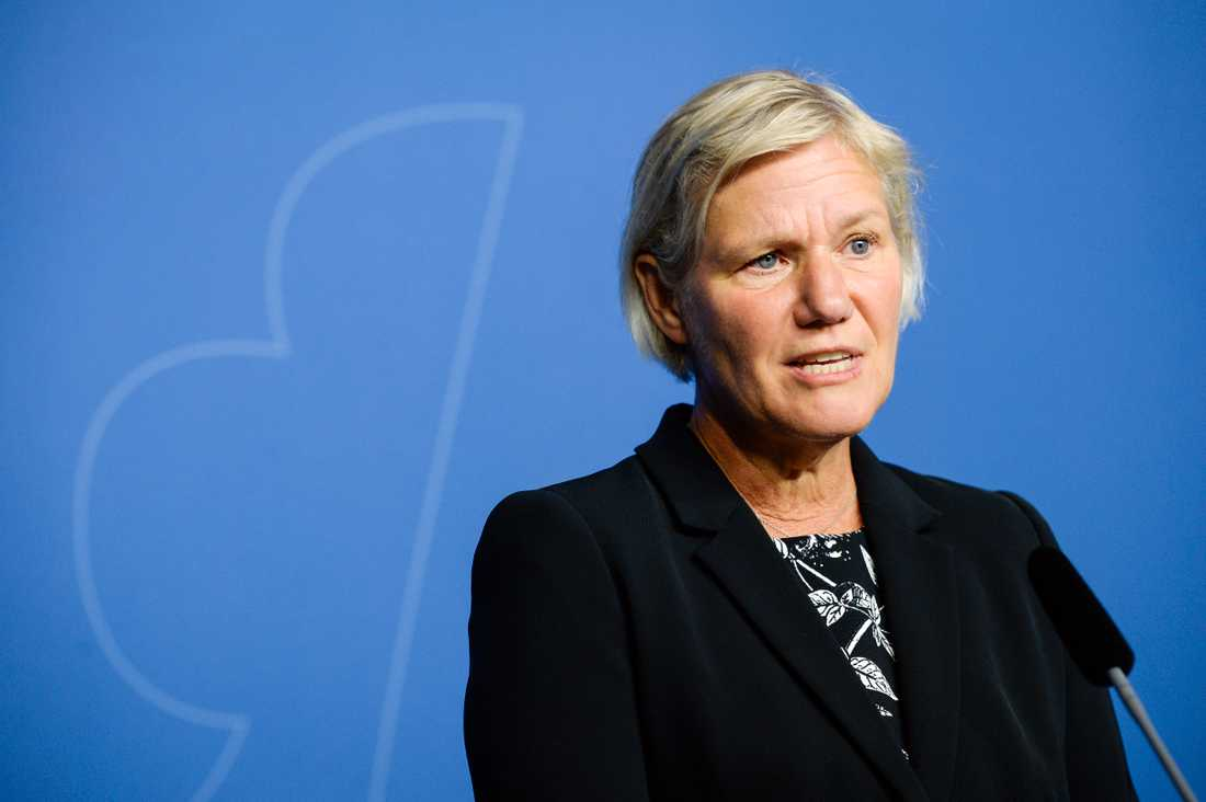 Ann-Marie Begler var tidigare generaldirektör.