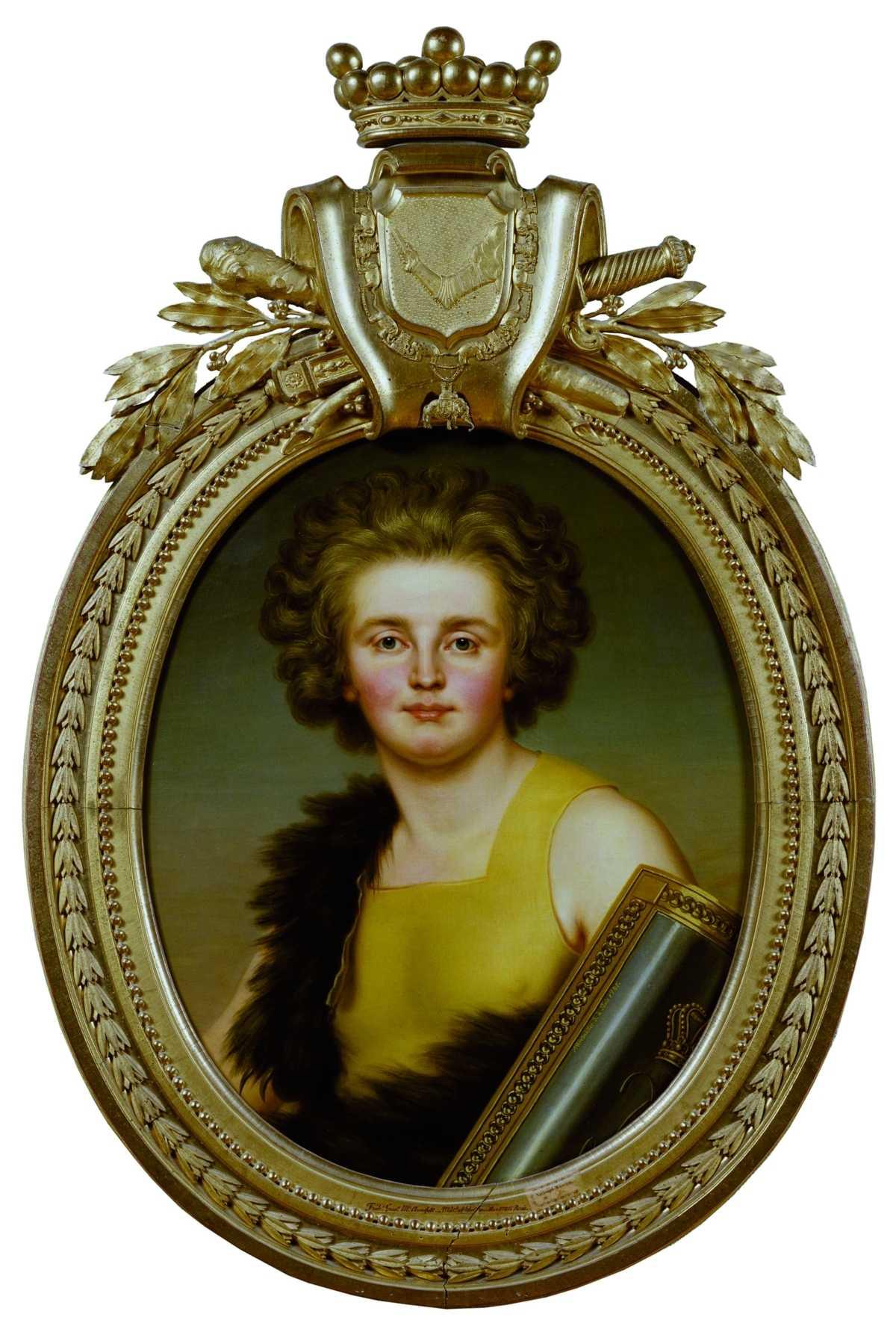 När Gustav III grundade Svenska Akademien 1786 var Finland en del av Sverige och finlandssvenskar kunde givetvis väljas in. Kungens gunstling Gustaf Mauritz Armfelt (bilden) var en av dem – han invaldes till och med två gånger. Målning av Adolf Ulrik Wertmüller/Nationalmuseum.