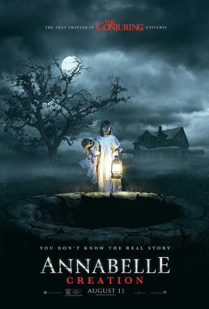 "Poster från ""Annabelle: creation"""
