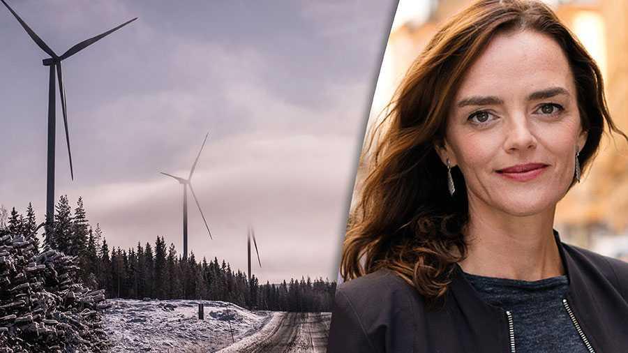 """Det hörs ofta bakåtsträvande röster om att """"det byggs i norr medan elen behövs i söder"""". Det är ett storstadsorienterat synsätt som helt missar vad god tillgång på förnybar el betyder för den nya gröna industrin i norr, skriver Linda Burenius."""