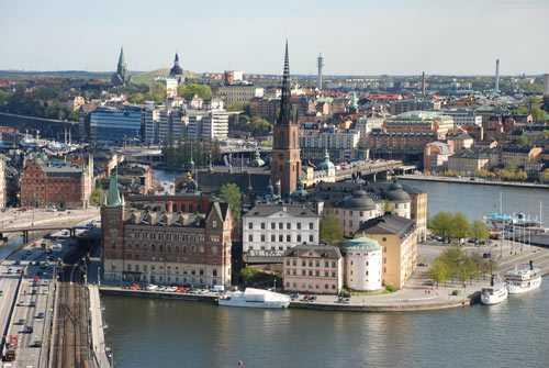 """""""Stockholm från ovan"""""""