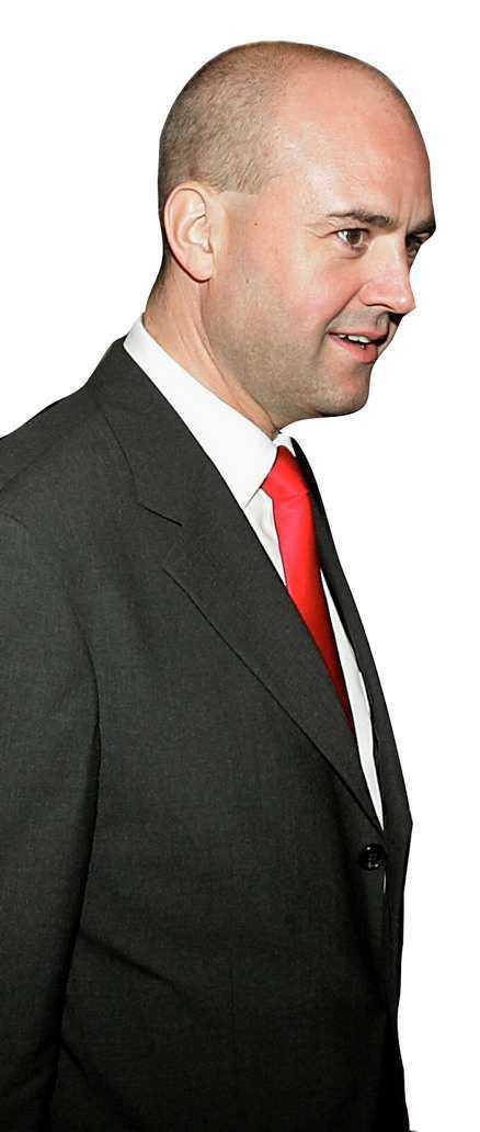 Fredrik Reinfeldt tillhör den exlusiva grupp som deltar i maktelitens möten om världspolitiken.