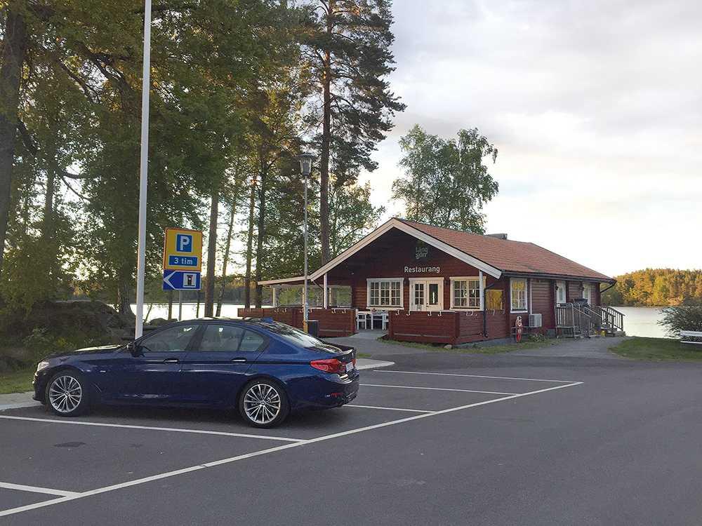Långsjön norr om Ludvika är en av landets 21 bästa rastplatser.