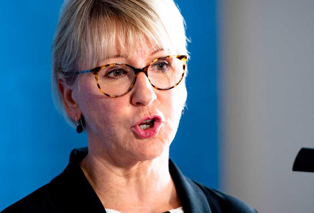 Margot Wallström, tidigare utrikesminister.