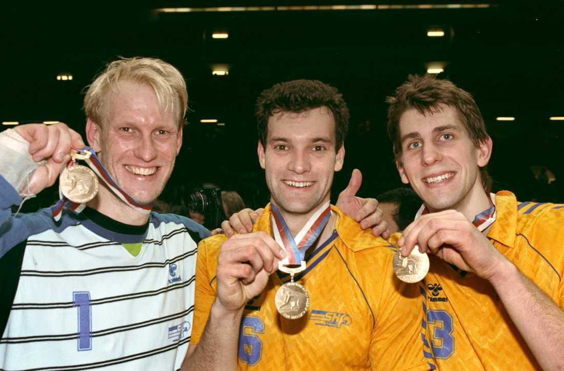 Svenska handbollslandslaget vinner guld i VM i Prag.