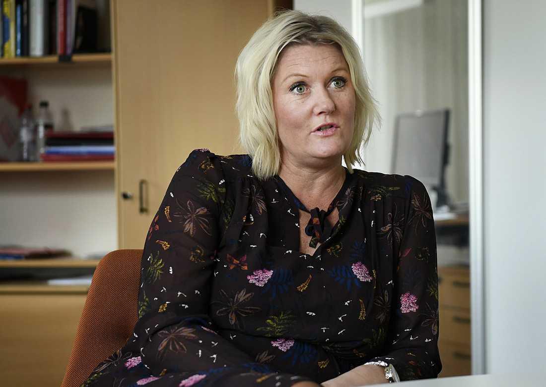 Lena Rådström Baastad är självkritisk efter S-mötet. Arkivbild.