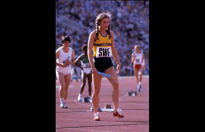 OS i moskva 1980. 4x100m.