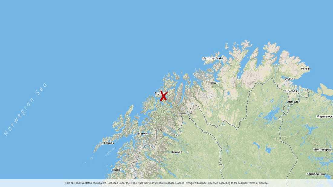 Tromsø, Norge.