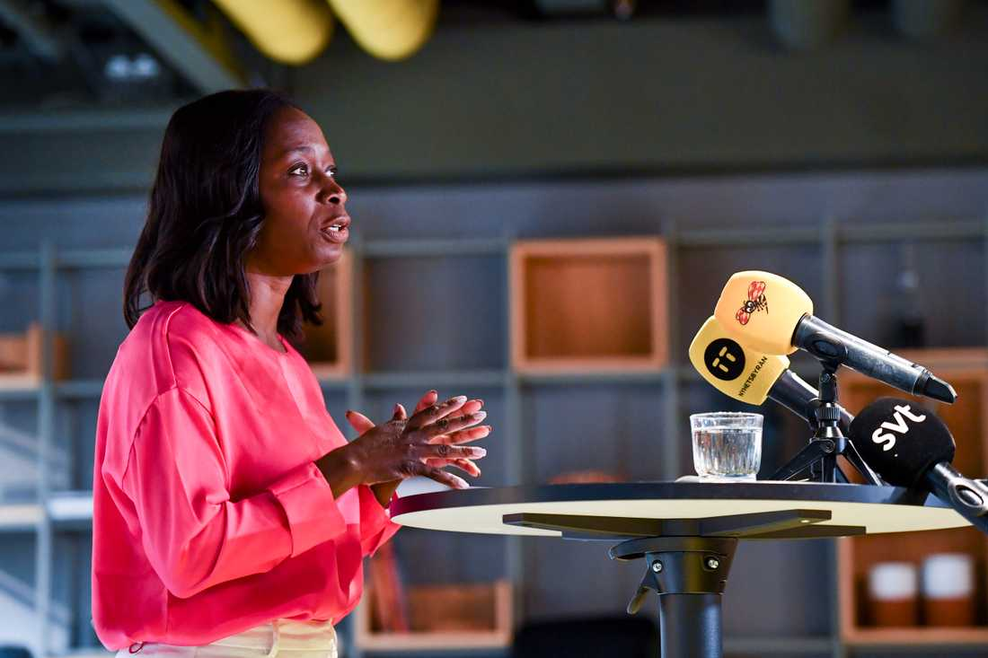 Nyamko Sabuni presenterade i veckan Liberalernas senaste förslag mot trångboddhet.