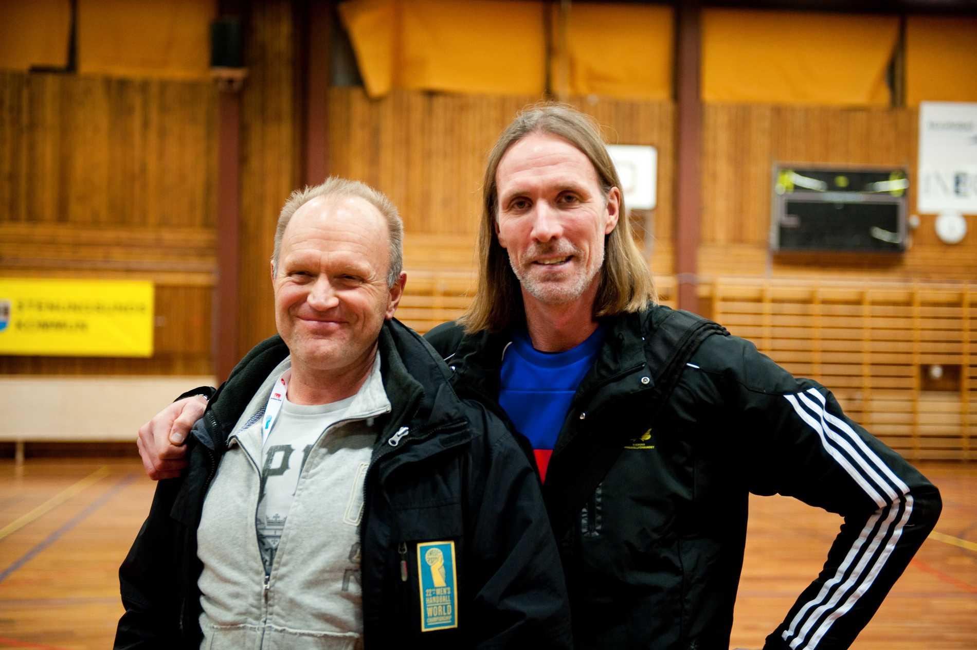 Anders Nissen (tv) Staffan Olsson (th).