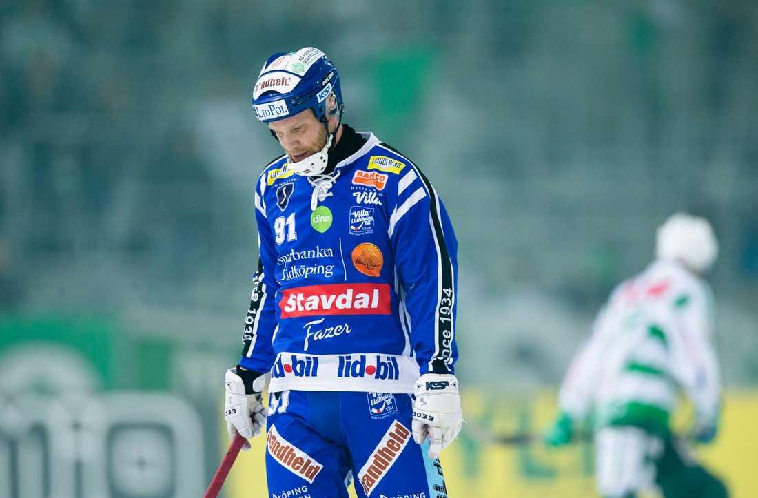 Johan Esplund var deppig efter finalförlusten.