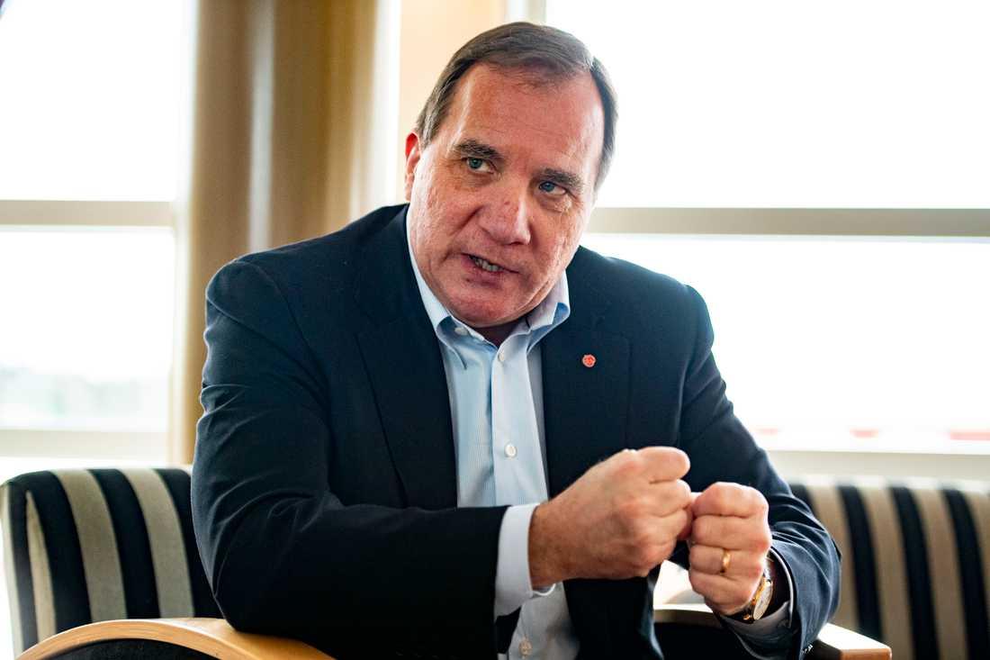 Stefan Löfven, Socialdemokraternas partiledare, kommer att vara ansiktet utåt för kampanjen.